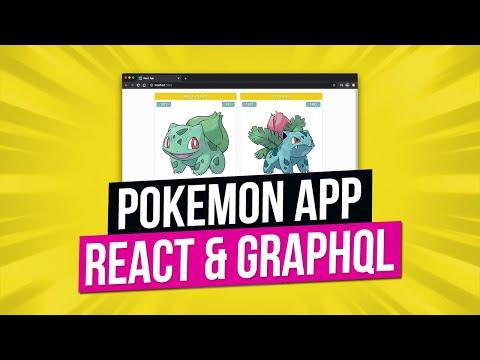 Build A Pokemon App   React & GraphQL Tutorial   React Tutorial 2020