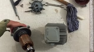разборка и сборка электродвигателя