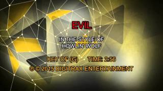 Howlin' Wolf - Evil (Backing Track)