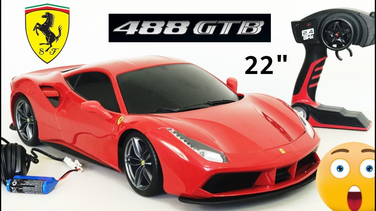 Ferrari 488 GTB Remote Control Car Tech RC By Maisto 22
