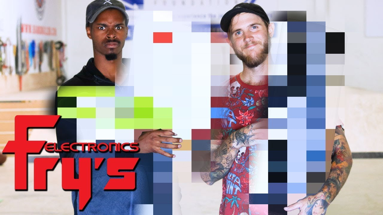 SKATE EVERYTHING WARS FRY'S ELECTRONICS | SKATE EVERYTHING WARS EP. 18