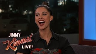 Naomi Scott on Aladdin, Will Smith & Shirtless David Beckham