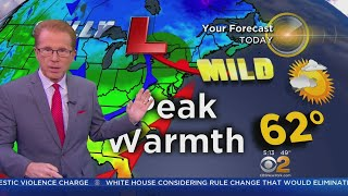 Temperatures Back To Normal Tuesday