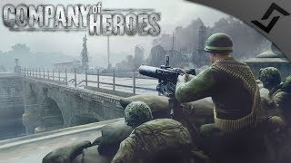 101st Airborne Defend Carentan - Company of Heroes: Europe at War - Invasion Normandy Mission 7