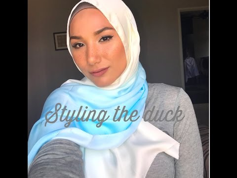 Styling the duck | Duck Scarf
