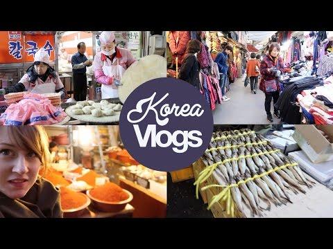 Korea Vlog 7: Huge Namdaemun Market in Seoul!