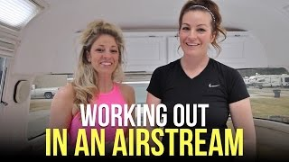 Working Out in an Airstream RV - Staying Fit ...