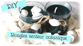 { DIY }  Bougies bicolore senteur océanique thumbnail