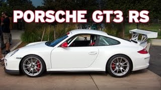 Custom Porsche 911 GT3 RS with Akrapovic Sports Cup exhaust, GT3 Cup Spoiler, Clubsport Roll Cage