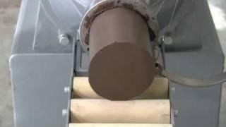 Shimpo's De Airing Pugmill Mixer Nvs07.wmv