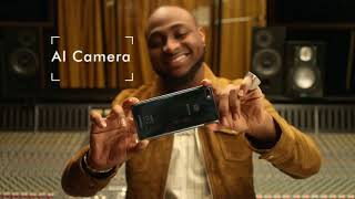 Davido Unboxes the Infinix Note 5  Beyond Intelligent