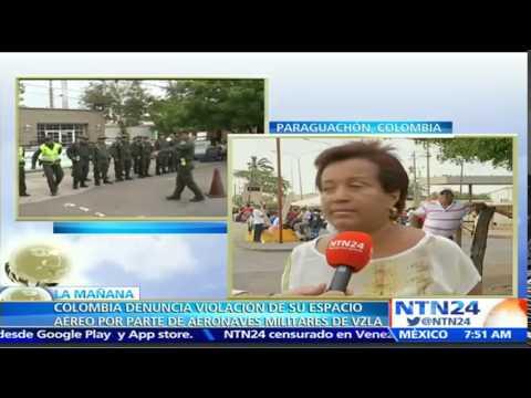 Refuerzan la seguridad en el paso fronterizo de Paraguachón previo a la visita del presidente Santos