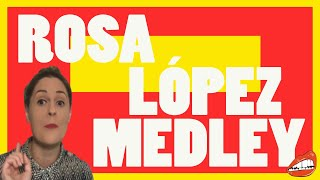 EUROVISION: REACTION TO ROSA LÓPEZ - 'SPANISH ESC HITS MEDLEY' (ESC 60TH ANNIVERSARY CONCERT)