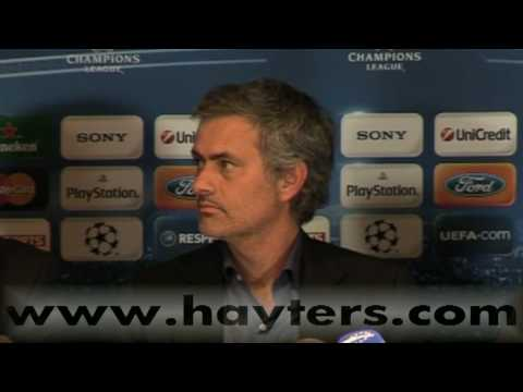Jose Mourinho Post-match Press Conference Chelsea v Inter Milan 16-Mar-10
