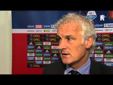 Fred Rutten na afloop van Feyenoord - FC Groningen
