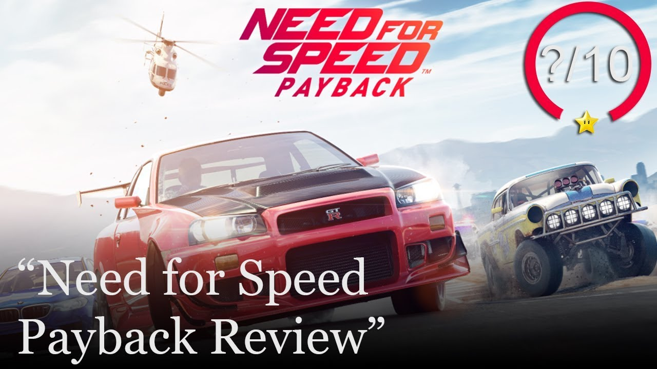 Need For Speed Payback Ps4 Review Youtube