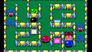 Chew-Man-Fu Game Sample -- TurboGrafx-16