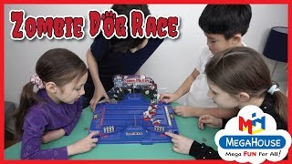 Kids Playing Zombie Dog Race Game from MegaHouse