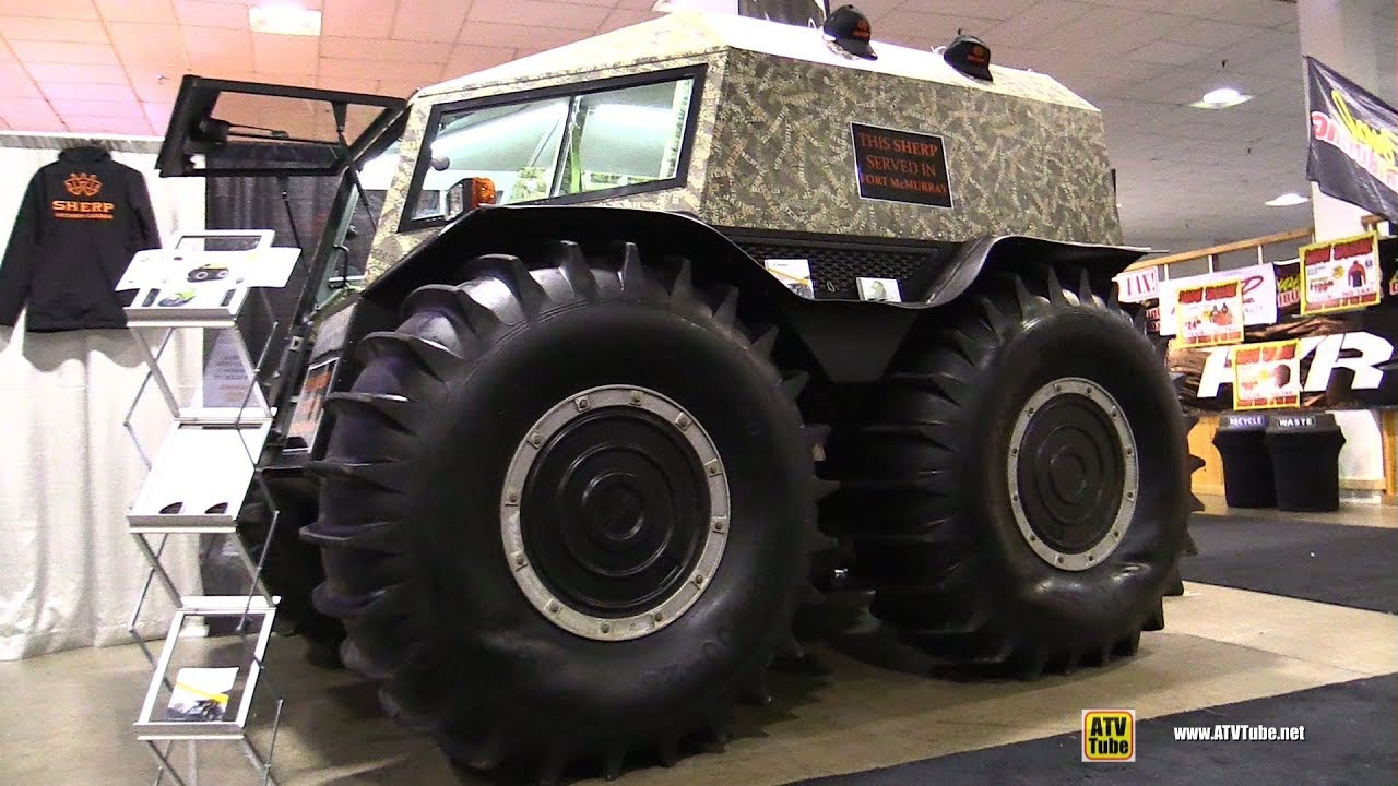 Sherp Atv Price >> 2018 Sherp Amphibia ATV Vehicle - Walkaround - 2017