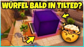 Is Tilted Towers destroyed by the cube? | This is what happens until Season 6 - Fortnite Battle Royale