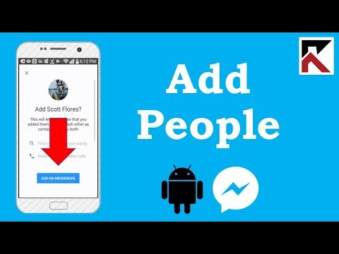 How To Add People On Facebook Messenger 2018 Android