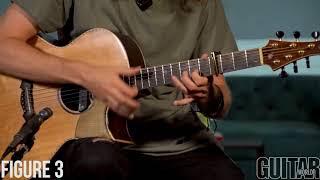 Двуручный тэппинг на акустической гитаре - Урок от Mike Dawes