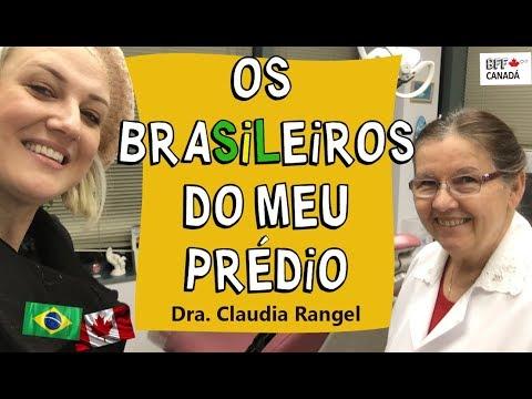 DE RECIFE PARA O CANADÁ COMO DENTISTA: Dra. CLAUDIA