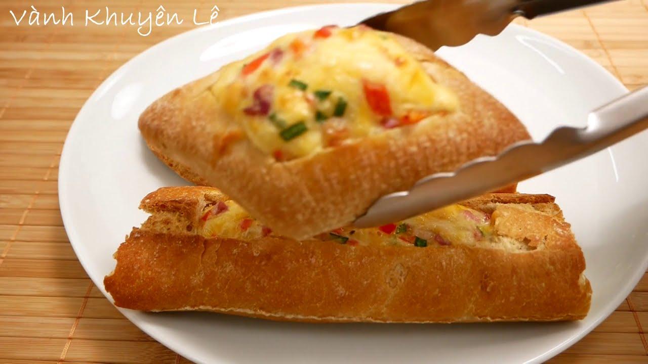 Kết quả hình ảnh cho Bánh mì nướng bơ & trứng