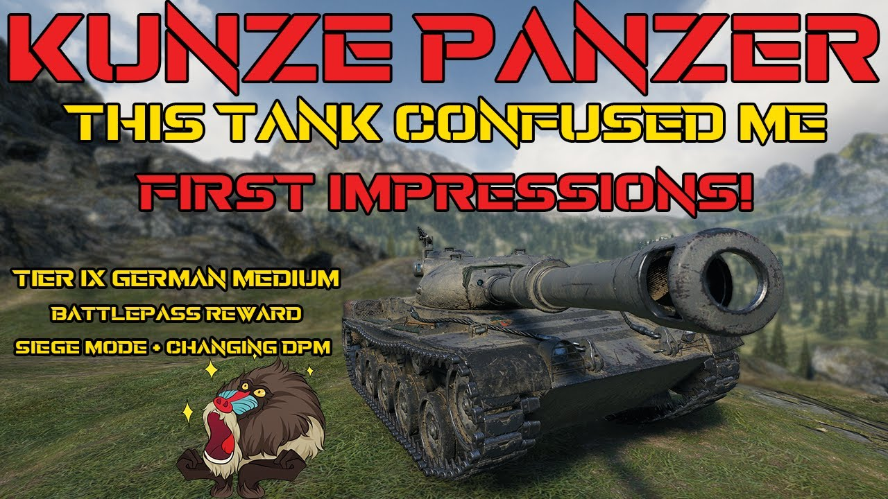 Download This tank BAMBOOZLED ME! Kunze Panzer First Impressions! | World of Tanks