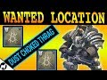 Wanted Dust Choked Thrag Location | Spider Wanted Bounty | Destiny 2 Forsaken | Excavation Site XII
