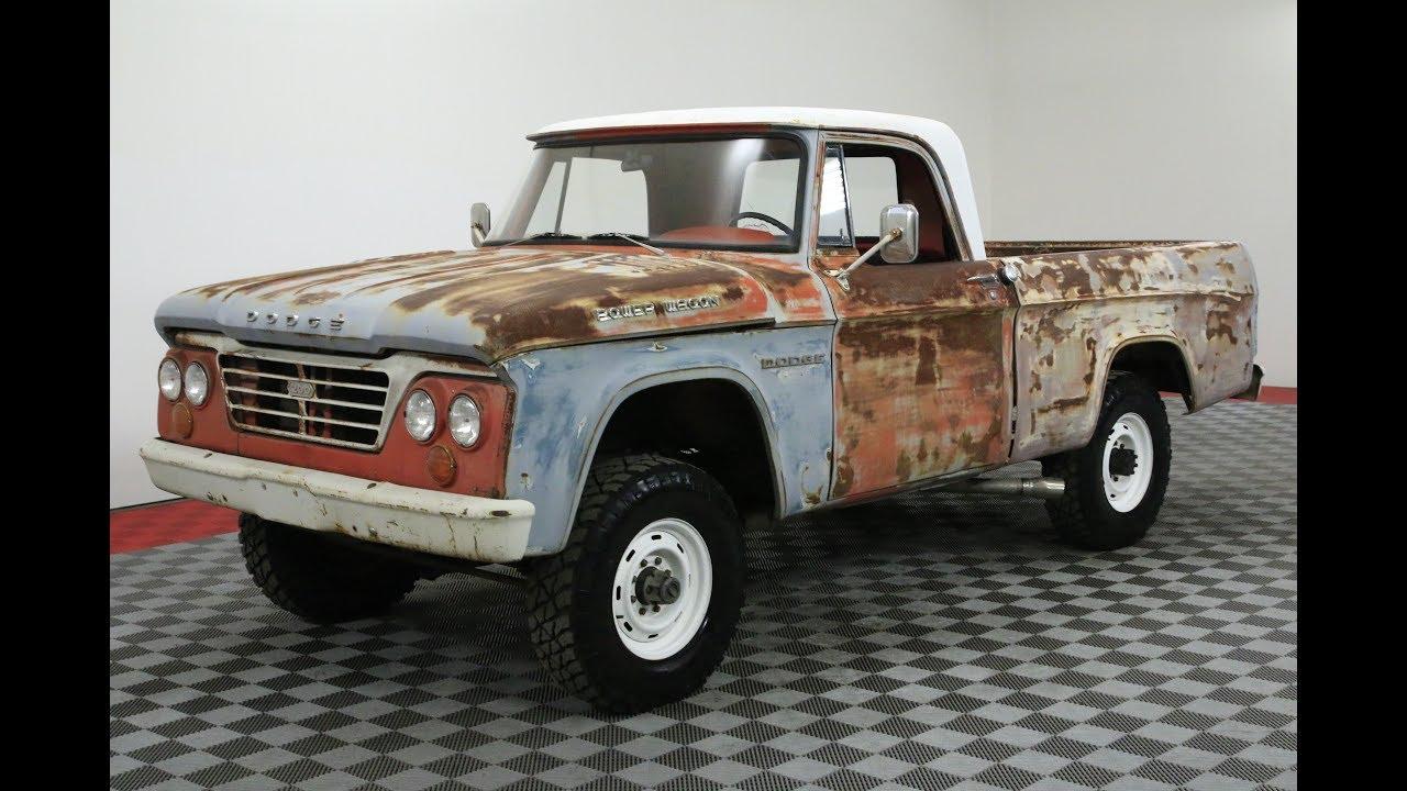 1964 Dodge Power Wagon Youtube Crew Cab