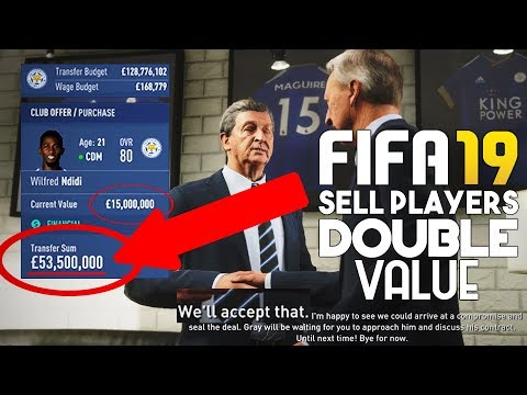 HOW TO SELL PLAYERS ON FIFA 19 CAREER MODE (DOUBLE VALUE)   FIFA 19 TIPS AND TRICKS!
