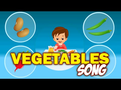 Vegetable Song for Kids | Learn Vegetables