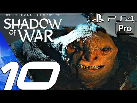 SHADOW OF WAR - Gameplay Walkthrough Part 10 - Fort Defence & Bruz Betrayal (PS4 PRO)