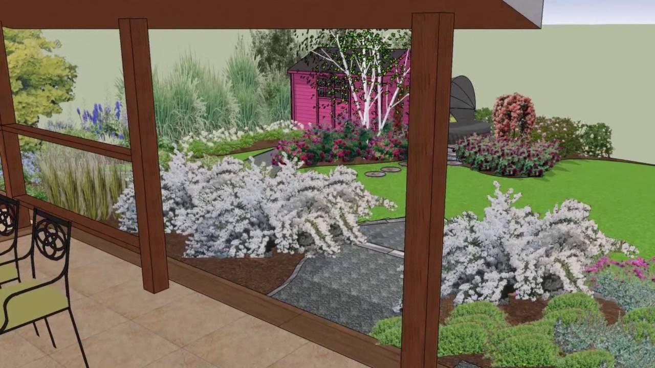Petit jardin anglais - YouTube