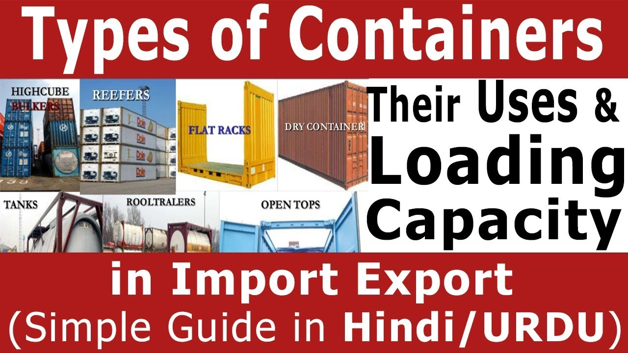 Best Kitchen Gallery: Types Of Containers Their Uses Loading Capacity In Import Export of Shipping Container Types on rachelxblog.com