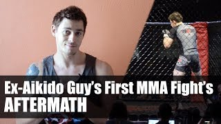 aftermath thoughts on ex aikido guys first mma fight martial arts journey