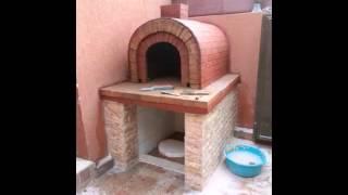 فرن التنور بناء كويتي2013   .. oven pizza