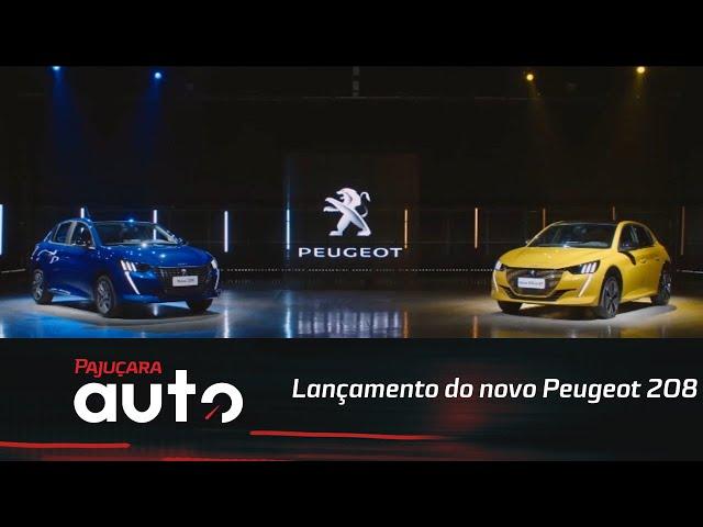 Acompanhe o lançamento do novo Peugeot 208