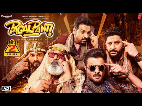 Pagalpanti Trailer 2 | Anil, John, Ileana, Arshad, Urvashi | Anees | Releasing 22 Nov