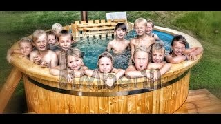 Wooden hot tubs | Wood fired hot tubs | Wood burning hot tubs | Welcome to TimberIN!