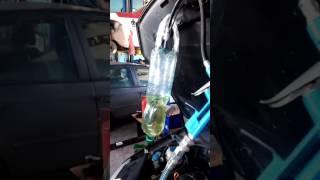 Промывка форсунок двигателя fsi на скорую руку