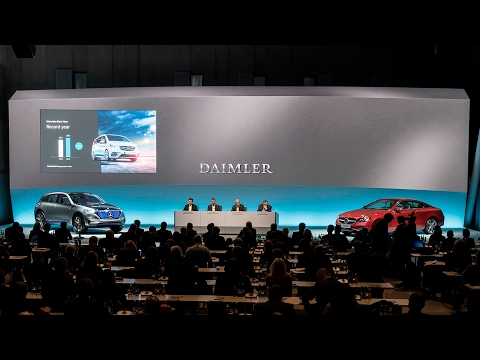 Daimler Annual Press Conference 2017 - Part 1 (English)