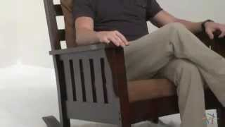 Remington Mission Rocking Chair - Product Review Video