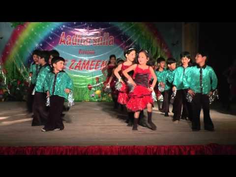 Waka waka dance by kids