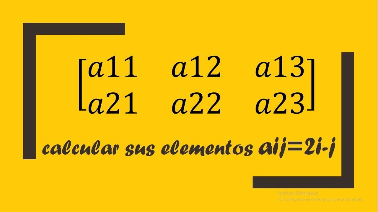 Determinante de una matriz 2×3