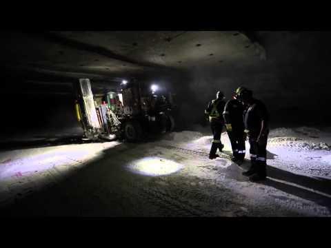 The world's largest salt mine