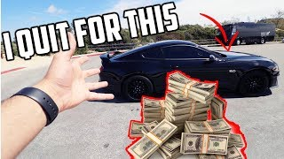 WHY I quit my JOB to become an Automotive YouTuber!