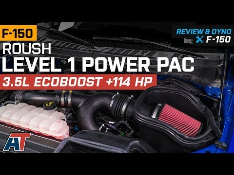 2015-2017 F150 Roush Level 1 Power Pac 3.5L EcoBoost Review & Dyno