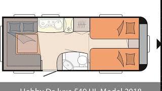 Hobby De luxe 540 UL Model 2018